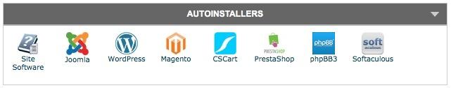 wordpress installer Softaculous